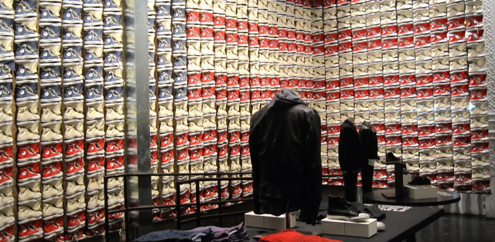 The Converse Speciality Store in SoHo