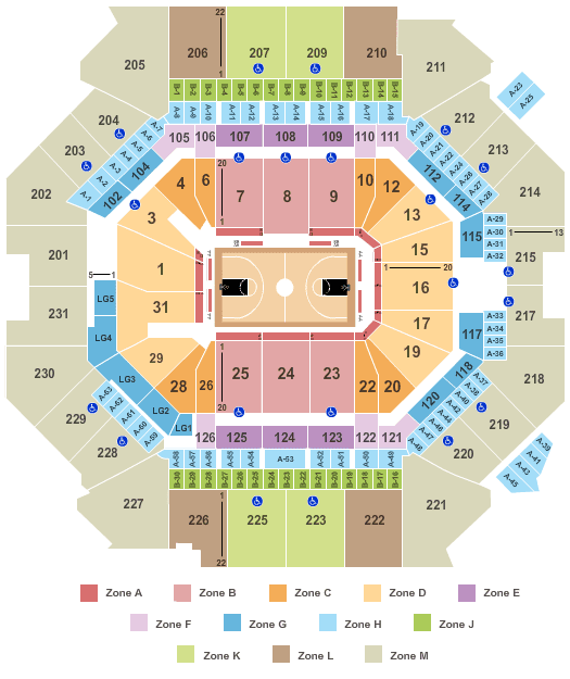 Brooklyn Nets Tickets Seating Plan