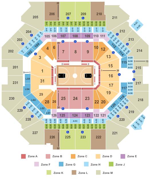 Brooklyn Nets Tickets Seating Plan