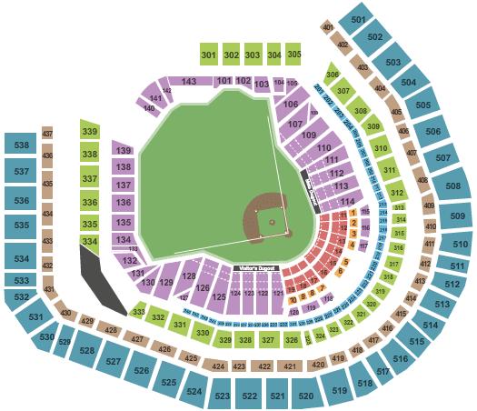 CityField Seating Mets Baseball