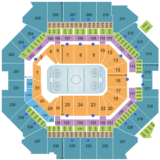 New York Islanders Tickets Seating