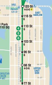 MTA Express Map