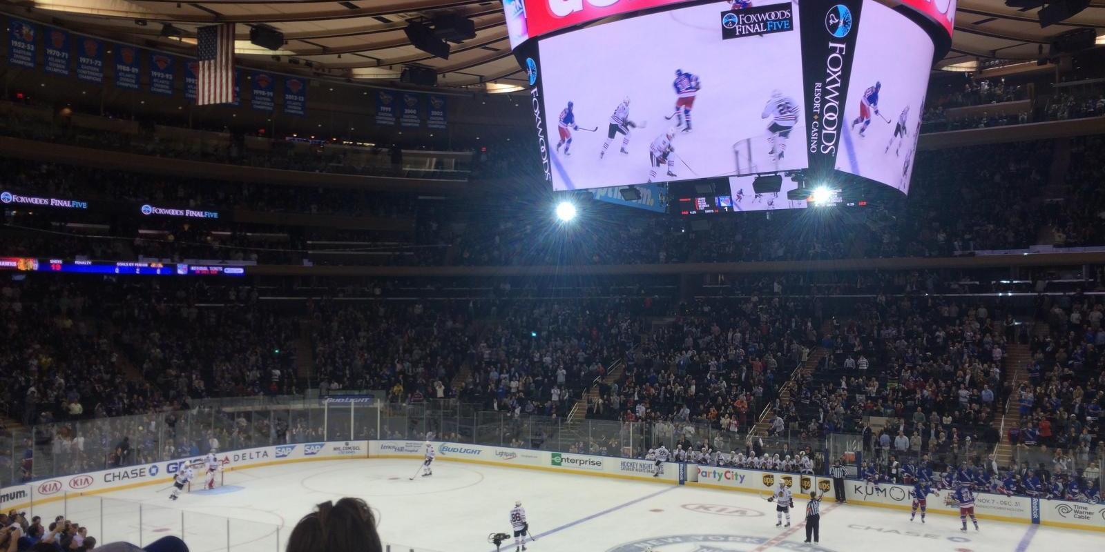 Entradas para el partido de los New York Rangers