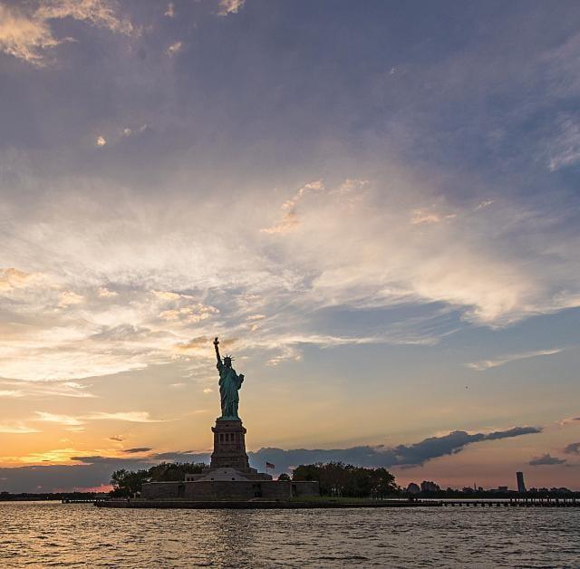Sunset Cruise to Statue of Liberty