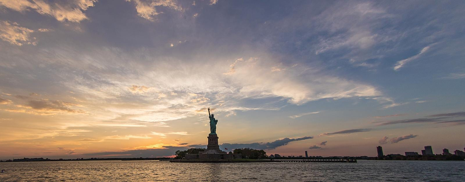 Sunset Cruise to Statue of Liberty