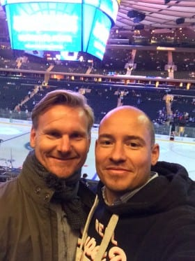 tino and steffen at madison square garden