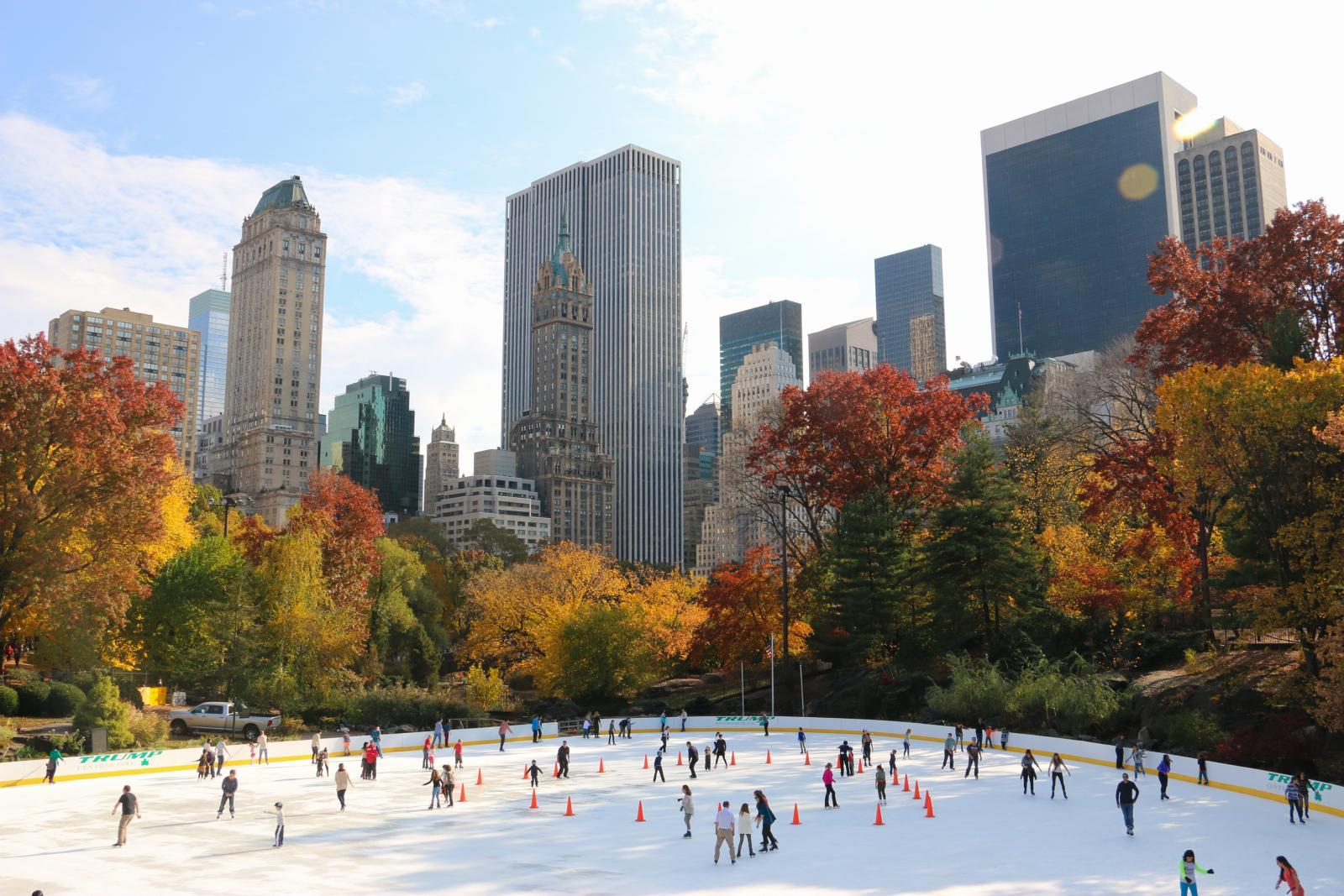 Wollman Ice Rink Central Park
