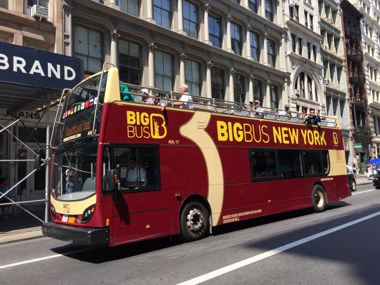 Big Red Bus NYC Bus Tour