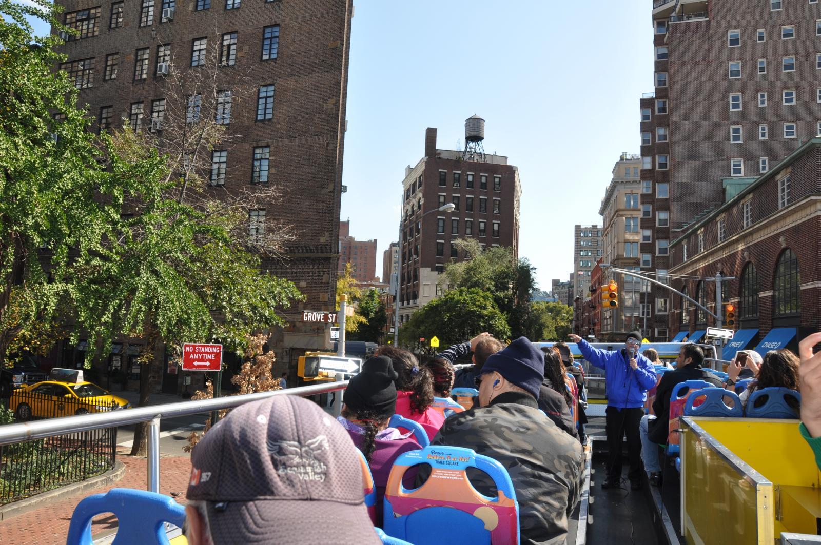 Bus Tour View Of Manhattan