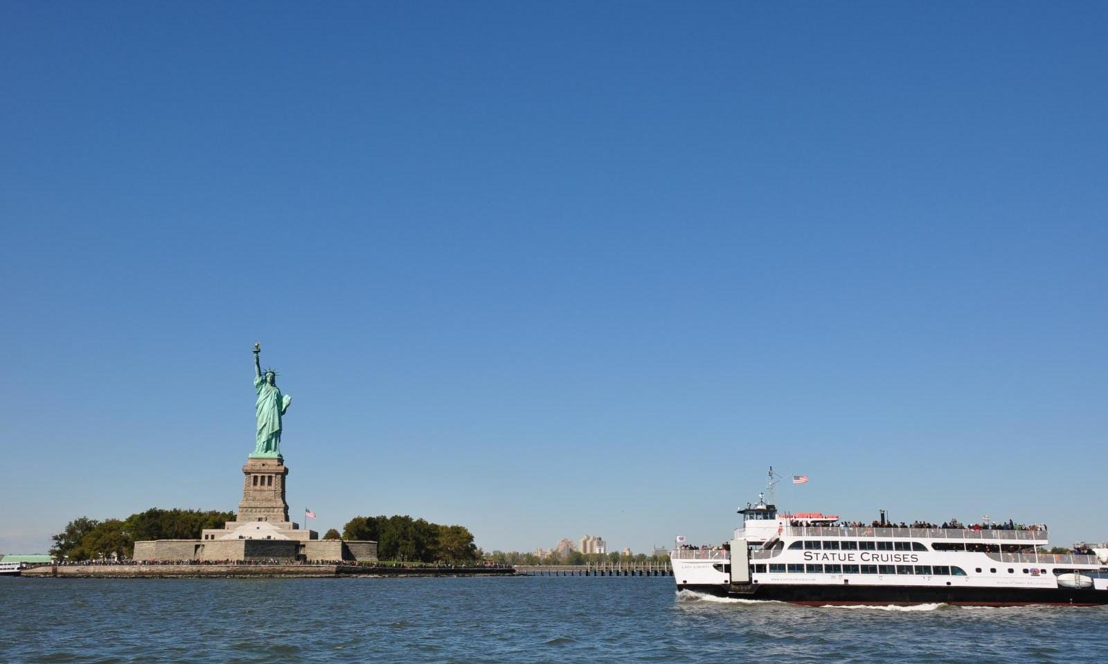 NYC Cruise Boat Tour Statue of Liberty