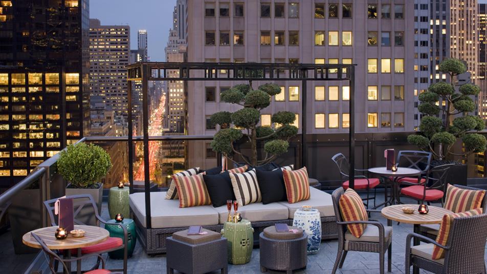 Marriott Hotel New York Rooftop Bar