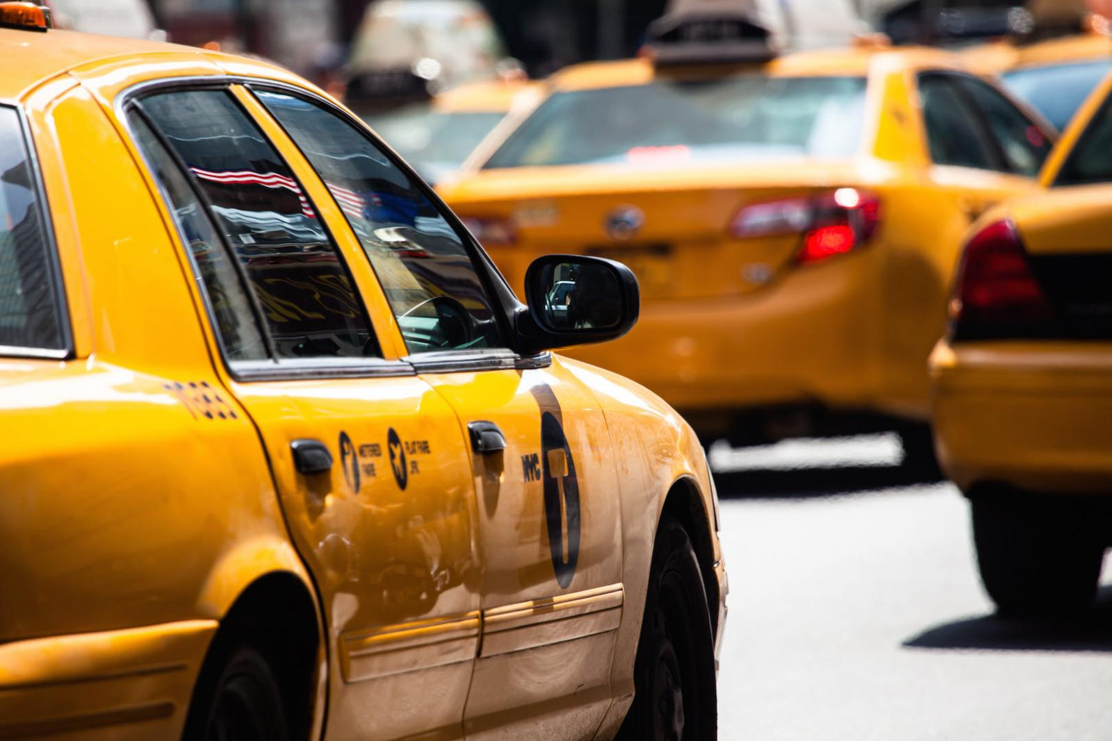 Taxi in New York City – Yellow Cabs