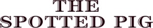 The Spotted Pig Logo