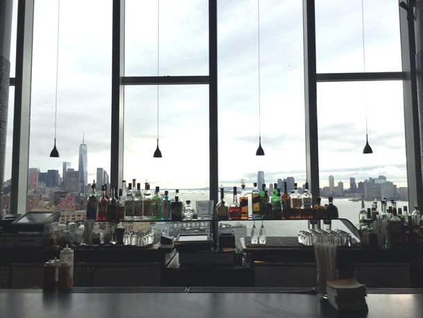 bar at the standard high line hotel new york