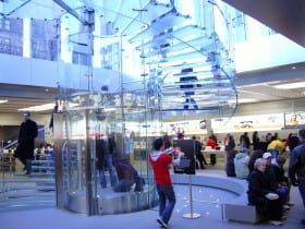 inside the apple store on 5th avenue