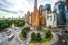 columbus circle in manhattan