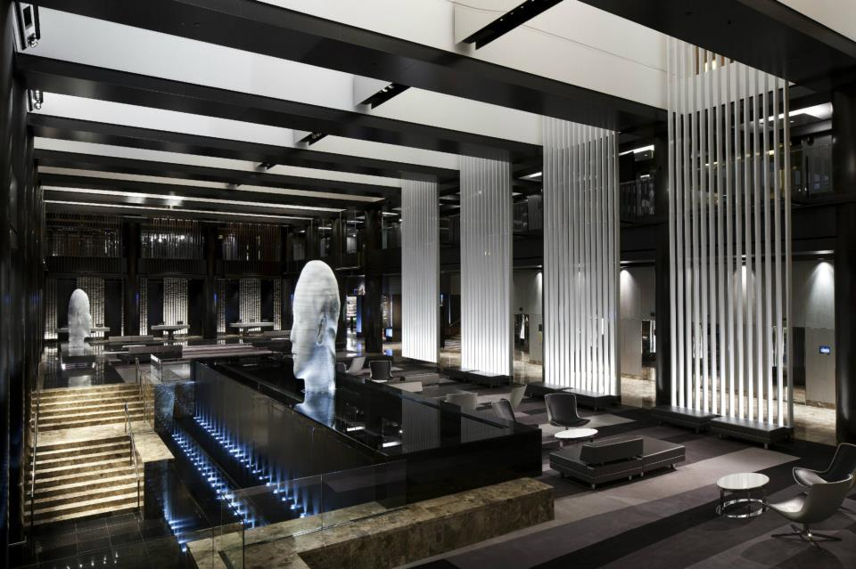 lobby at grand hyatt hotel new york
