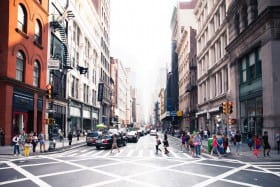 crossroad in soho