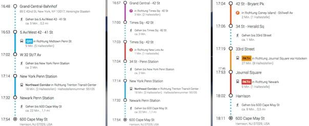 ways to the new york red bulls-stadium screenshot google suggestions