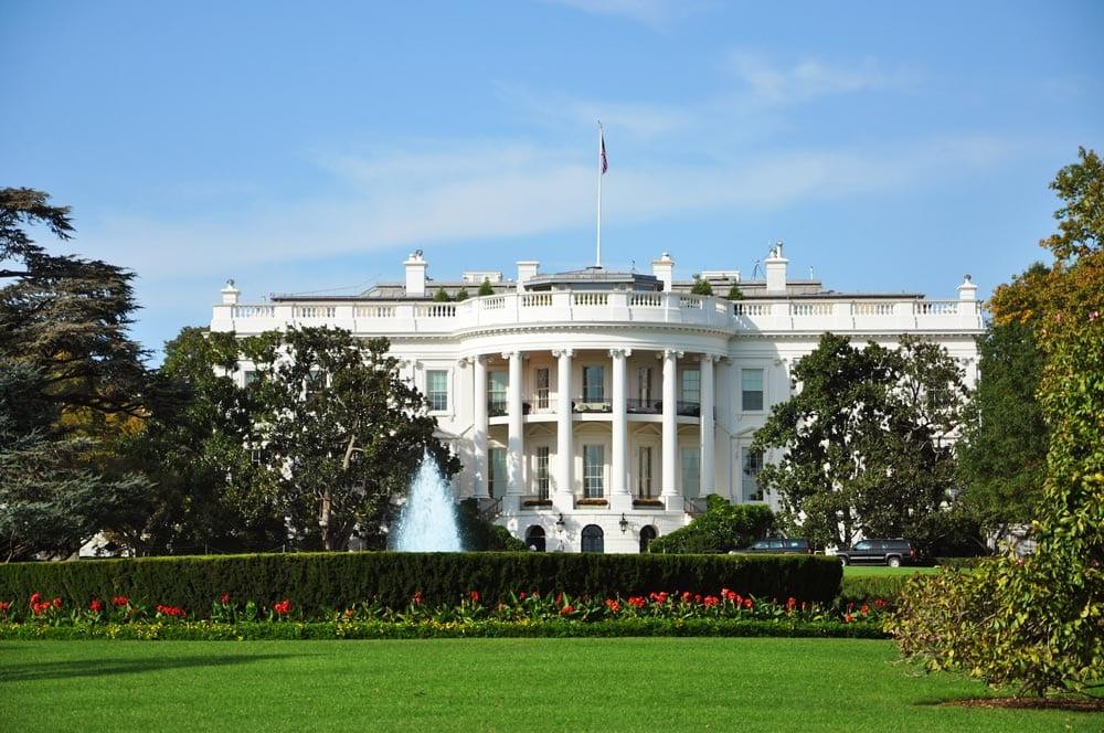 white house at washington d.c.