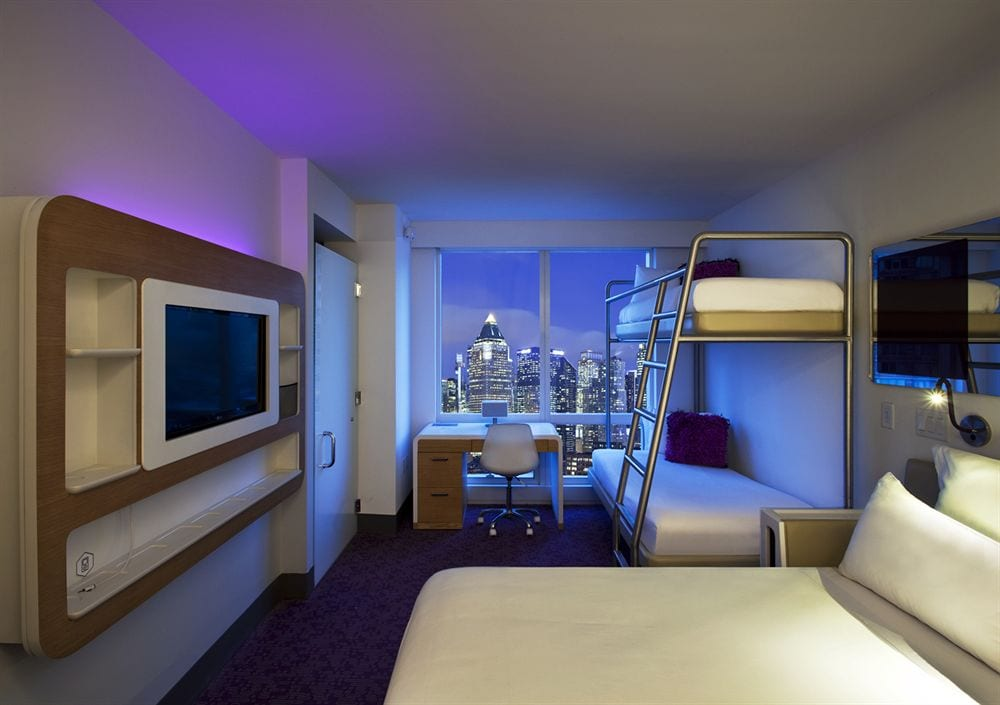 Hotel Rooms In New York City Times Square
