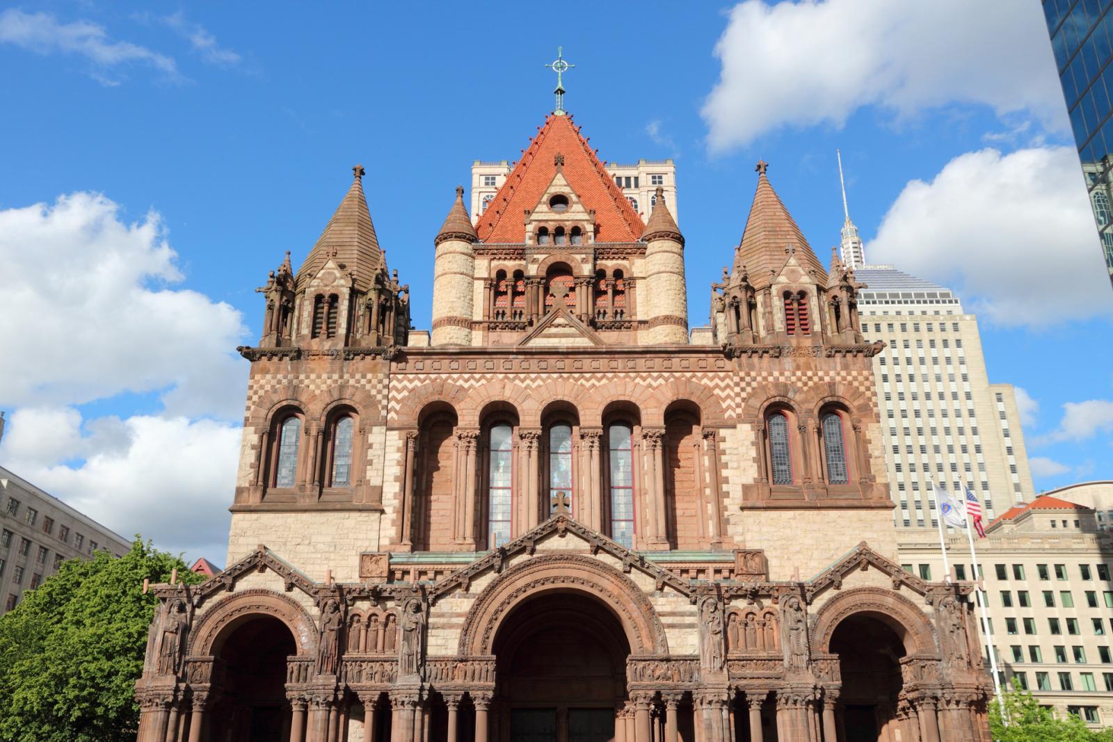 NYC Day Trip to Boston Trinity Church