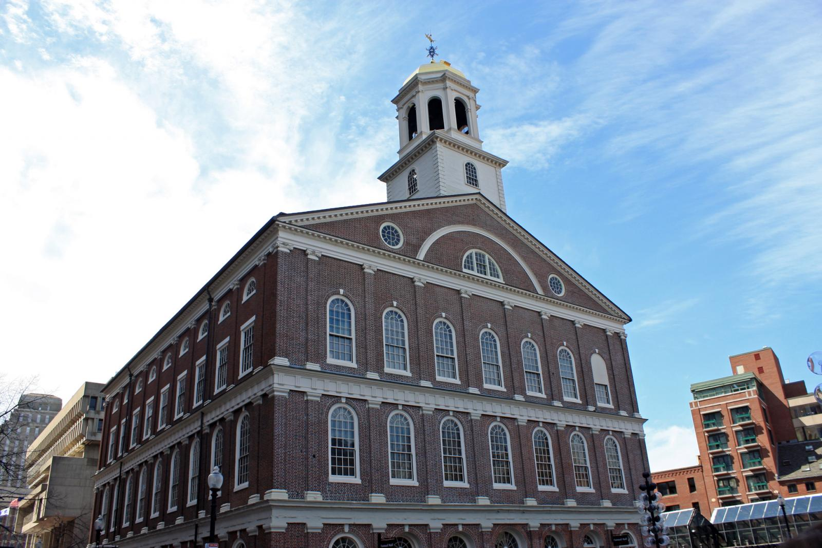 NYC day trip to Boston Faneuil Hall