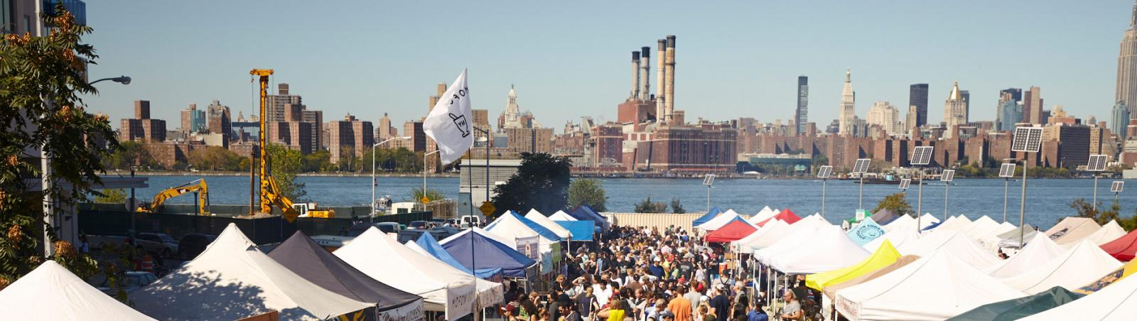 Smorgasburg Food Market in Williamsburg