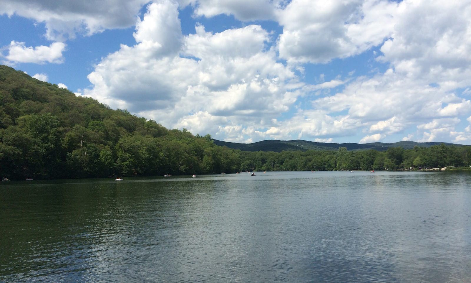 bear mountain state park by the water