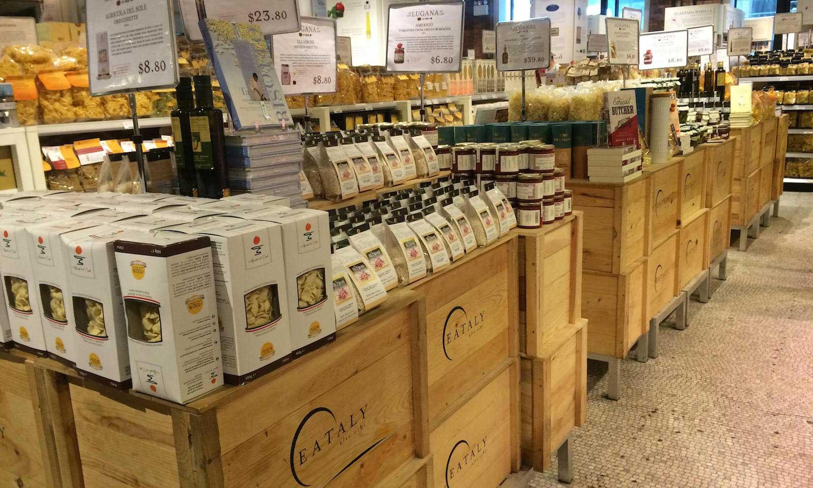 products at eataly