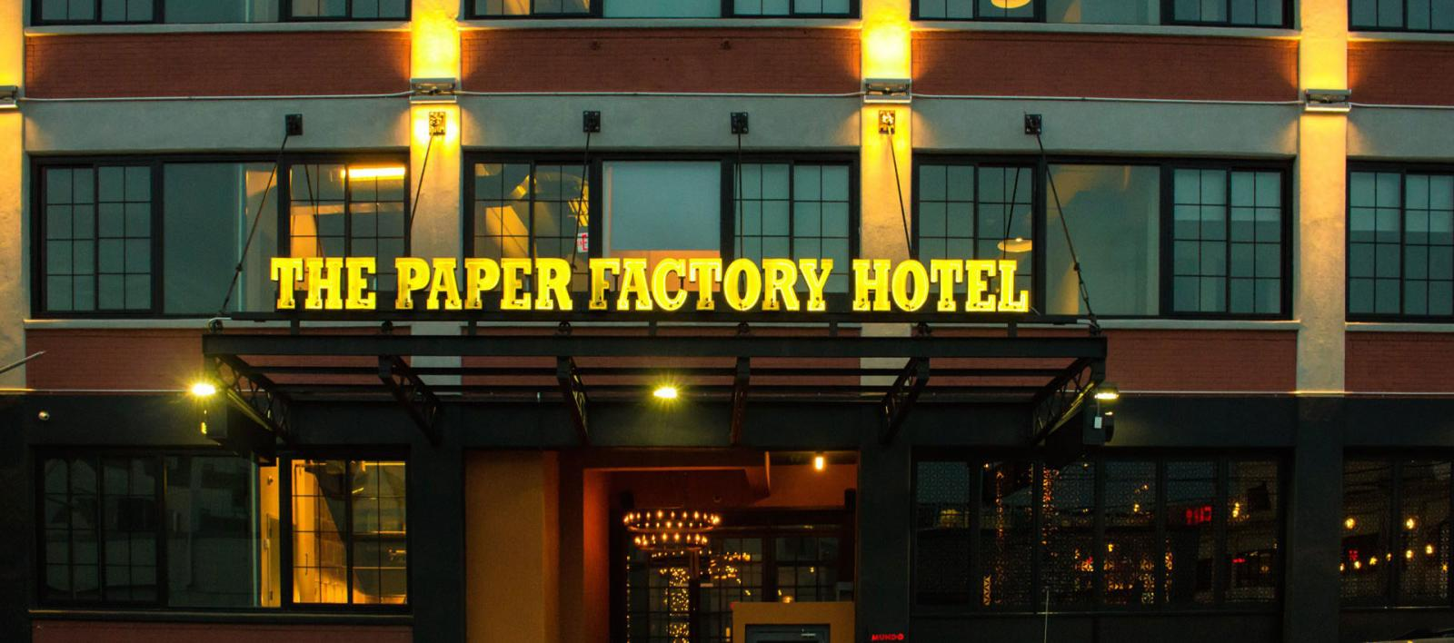 The Paper Factory Hotel in Long Island City