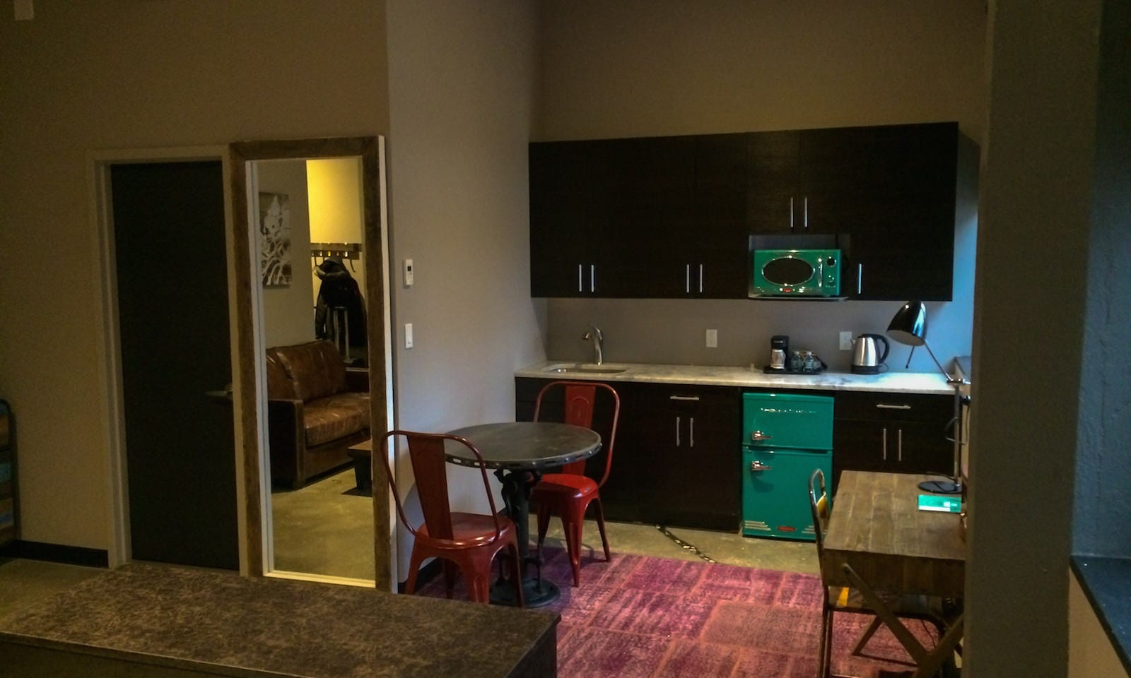 room at the paper factory hotel