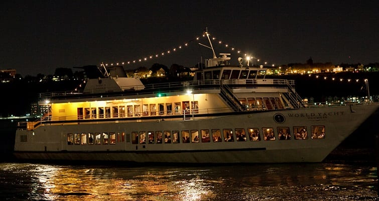 cruise at night