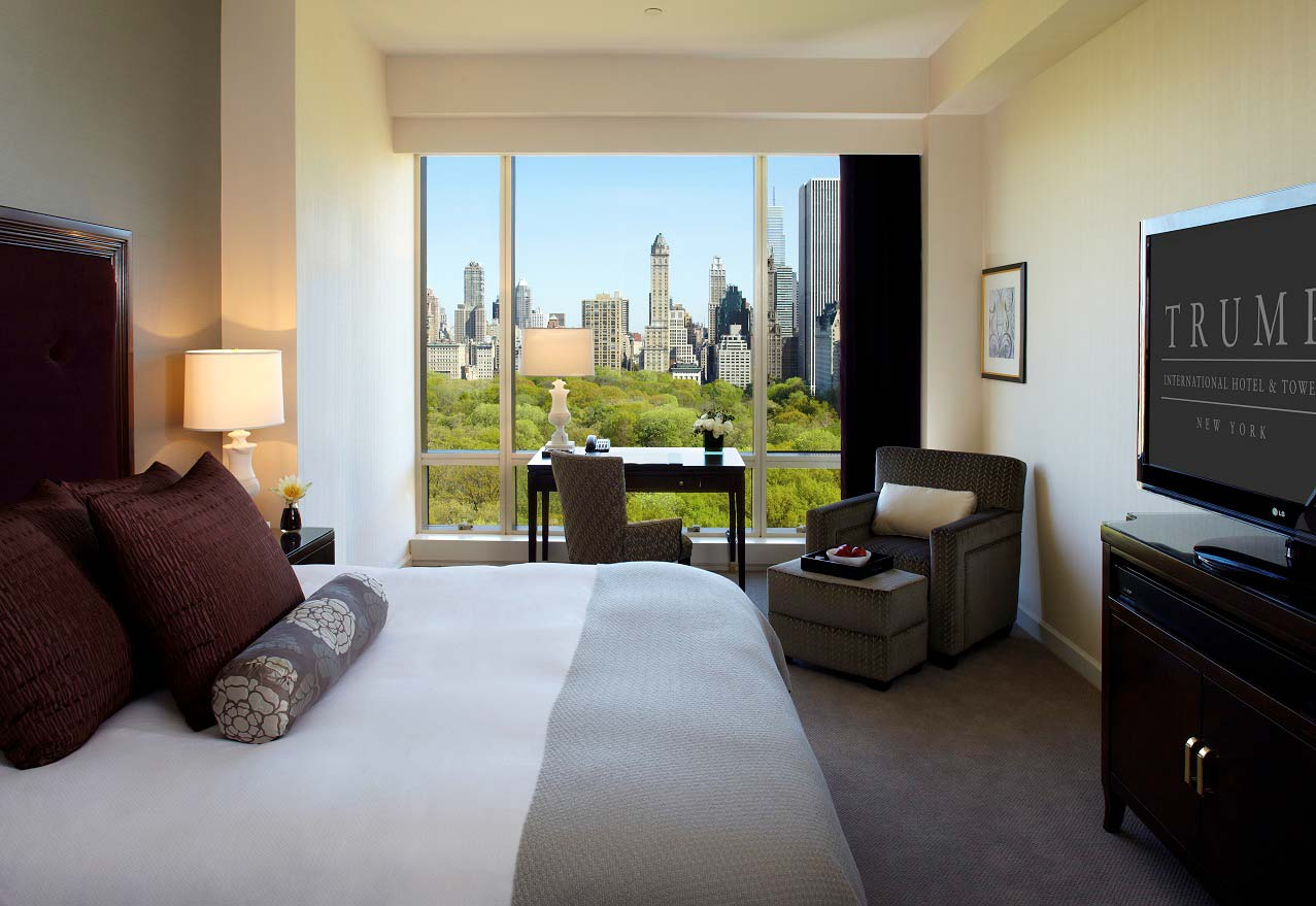 hotel room at trump international new york