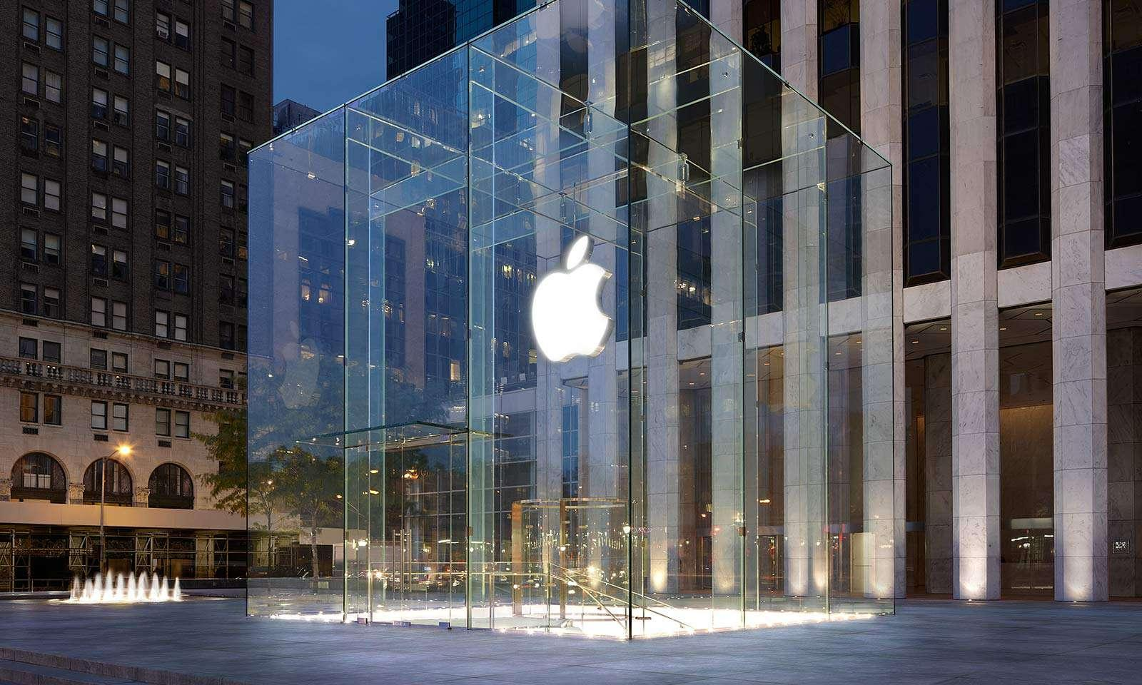 apple store on 5t avenue new york