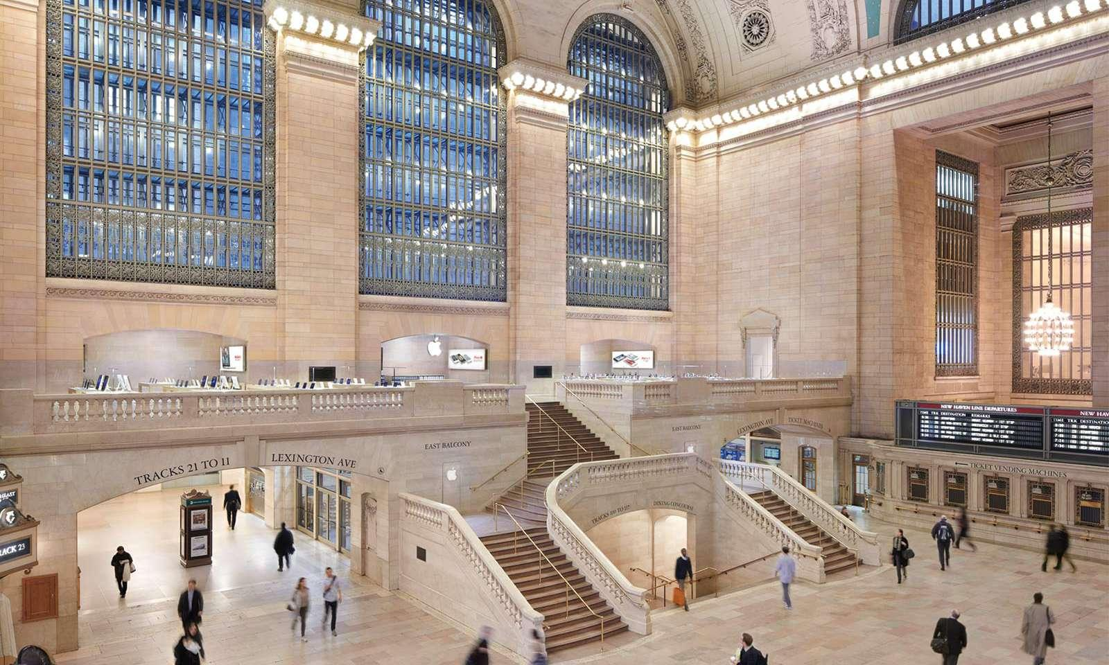 apple store at grand central station new york