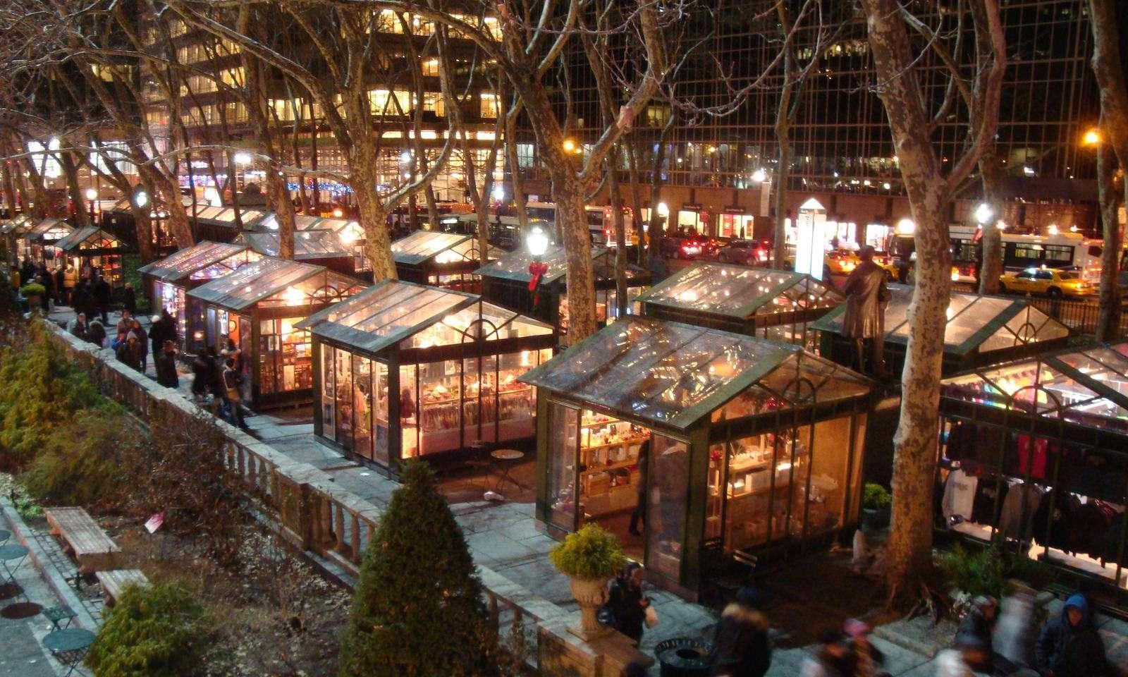 shops at winter village at bryant park