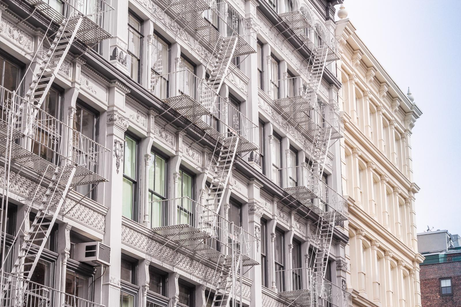 Soho Cast Iron District NYC