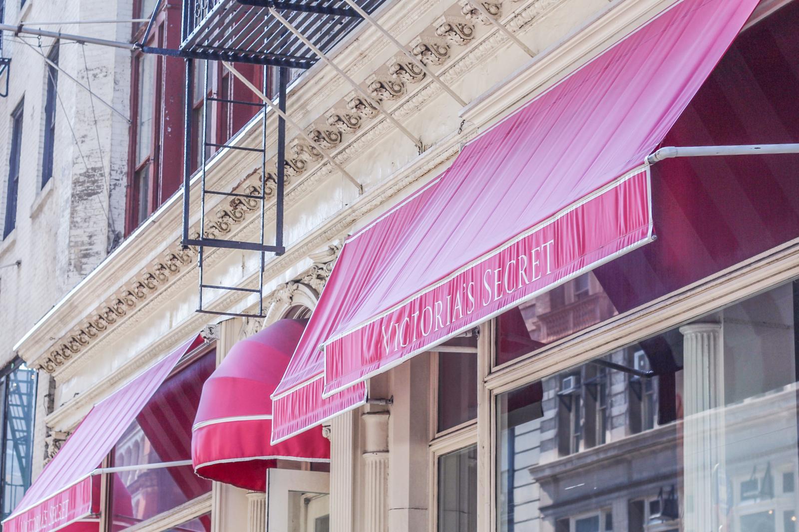 Soho NYC Shopping Victorias Secret