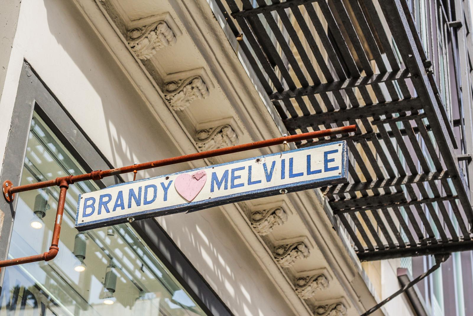 Shopping in Soho NYC Brandy Melville