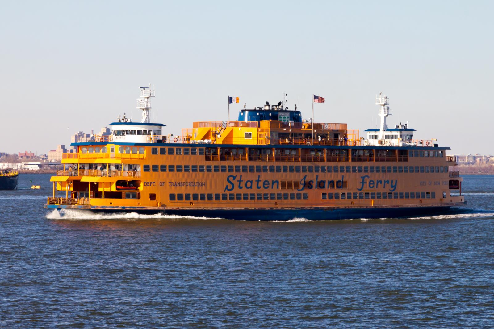 Top 10 FREE things to do NYC Staten Island Ferry