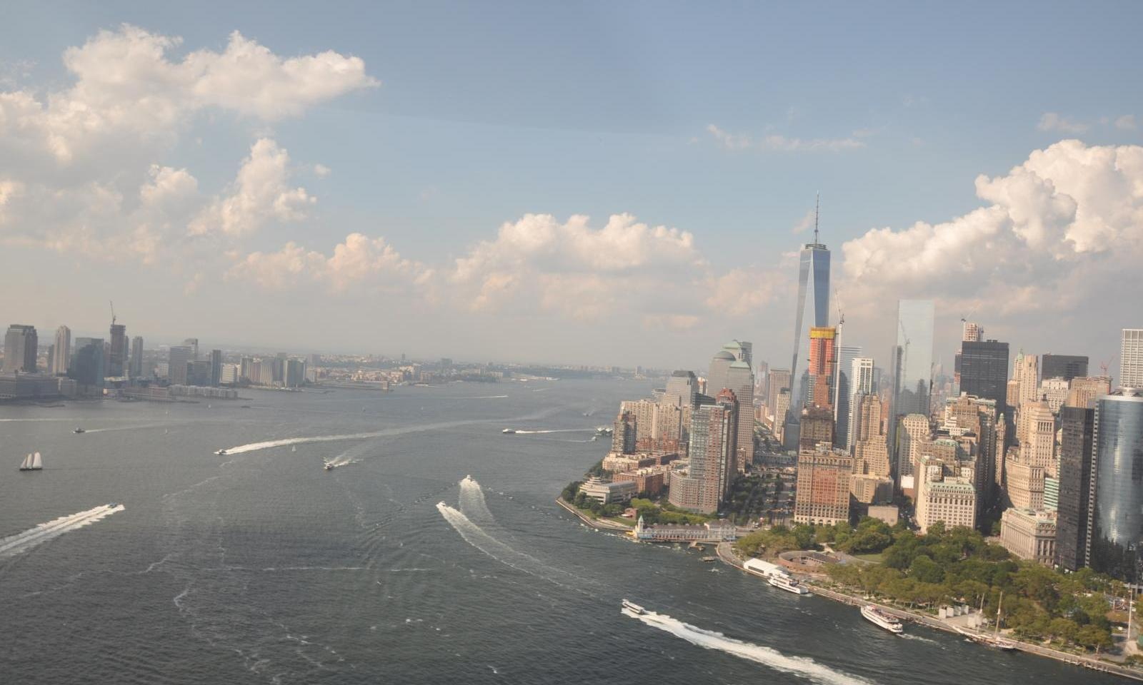 New York Helicopter Tour Manhattan Brooklyn And Coney Island