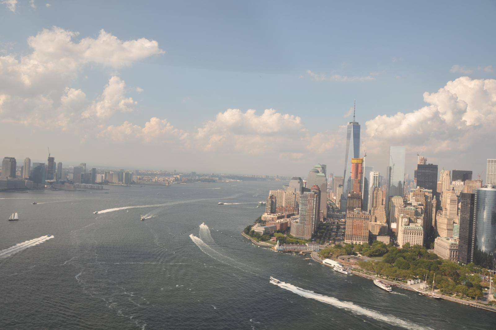 Helicopter Tour Downtown Manhattan