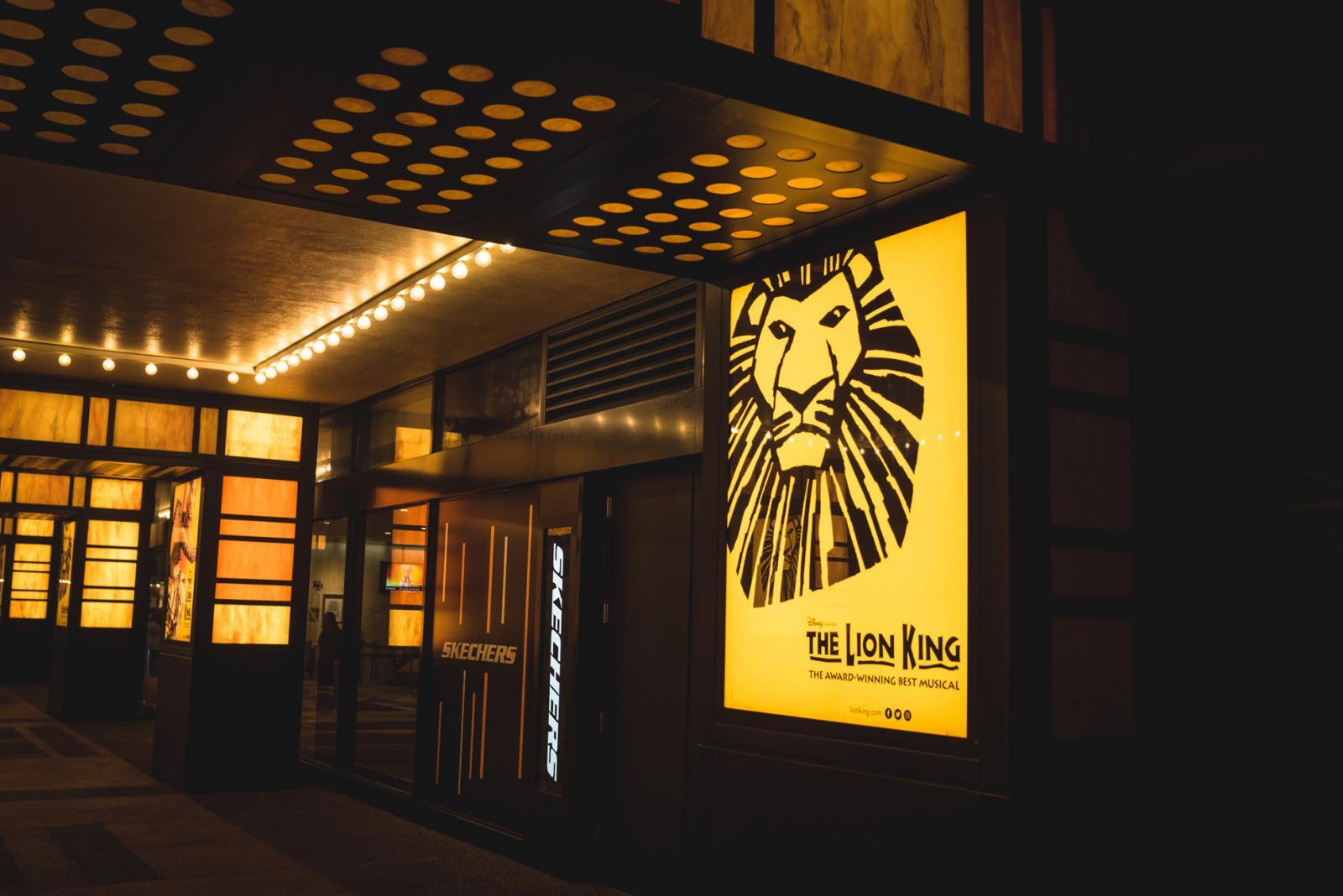 Lion King on Broadway