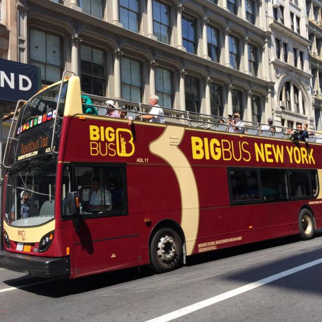 Hop On Hop Off Bus Tours New York