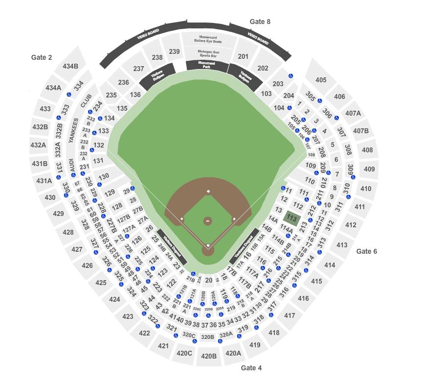 Yankees Stadium Tickets & Seating
