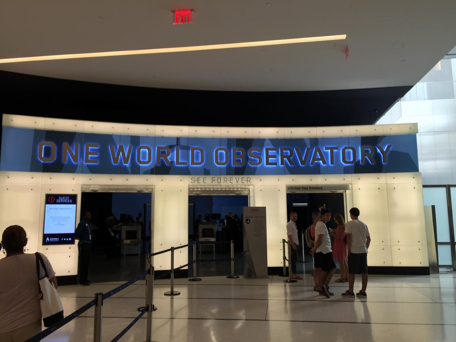 One World Observatory Welcome Center