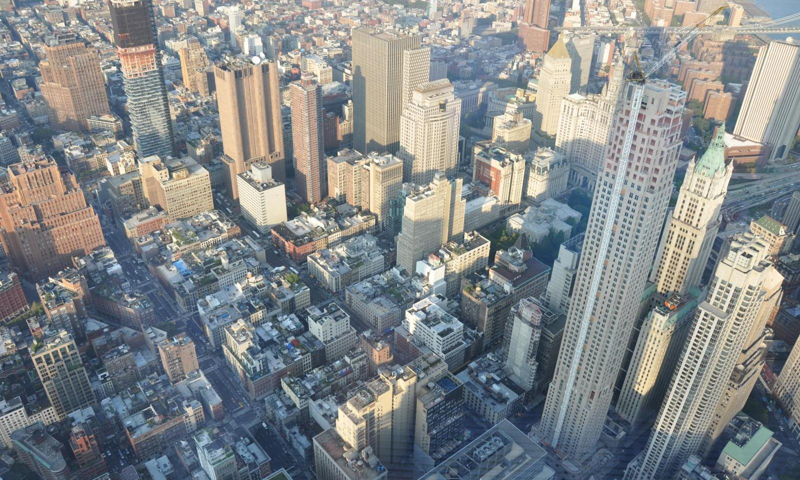 One World Trade Center Observatory View