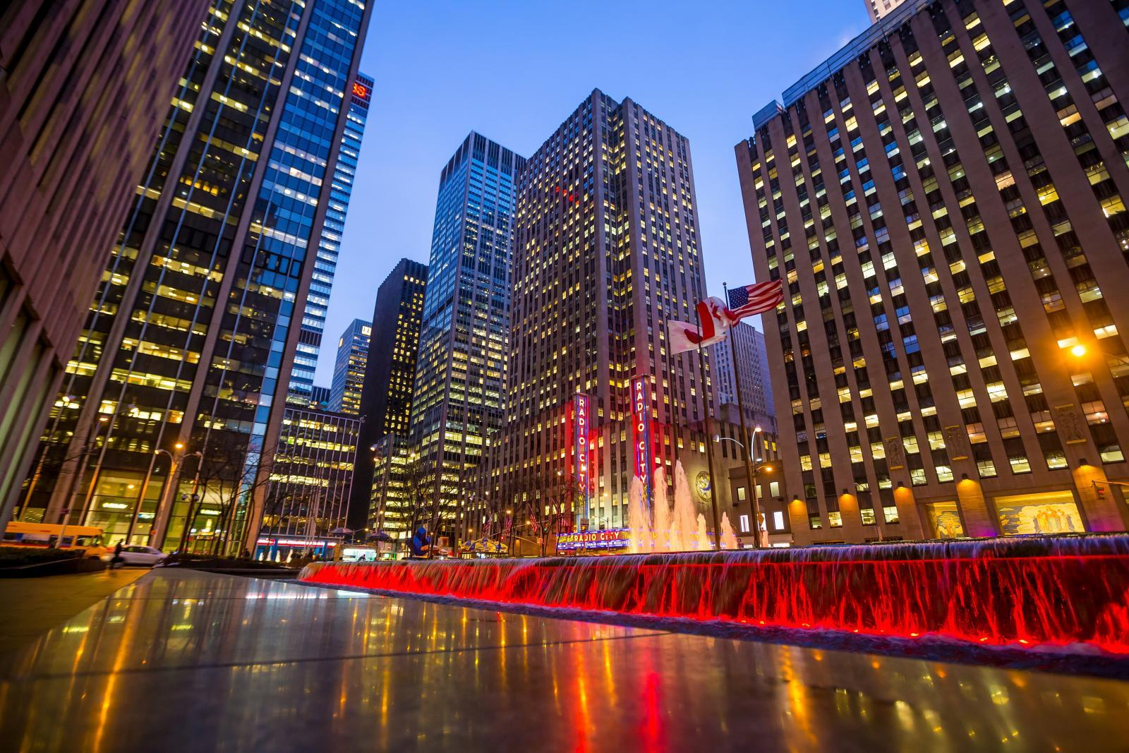 Radio City Music Hall Rockefeller Center