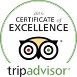 Certificate of Excellence Helicopter Ride